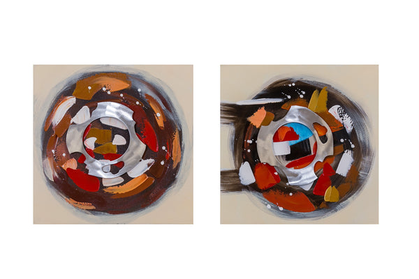 "Artistique - 16"" x 16'' Set/2 Circles - Casa Febus - Home • Design"