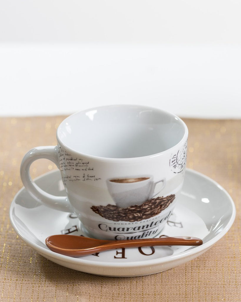 3oz Premium Coffee Set/4 - Coffee Time Collection