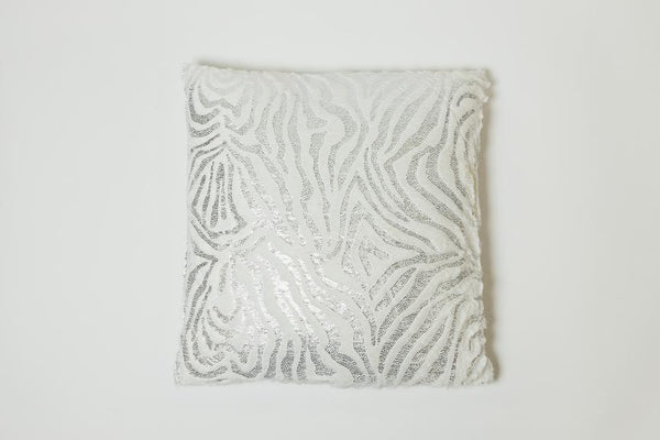 Zebra Silver Pillow - Modéle Collection