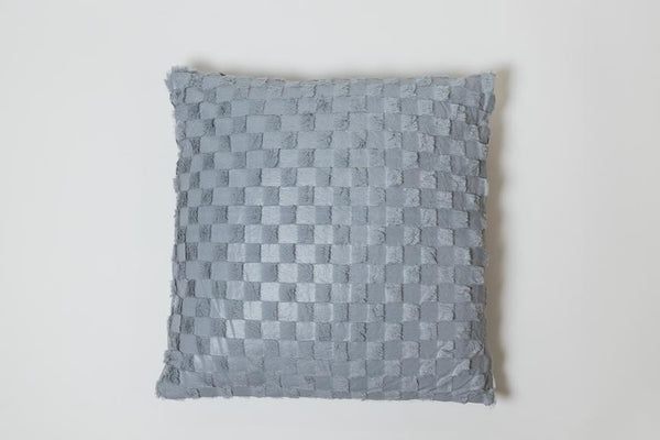 Squares Gray Pillow - Modéle Collection