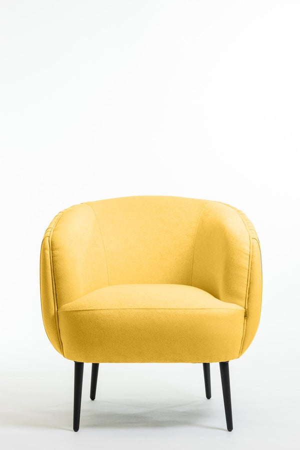 Hope Arm Chair- Dijon Yellow