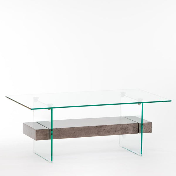 "43"" Blanche Mood Coffee Table - Cement"