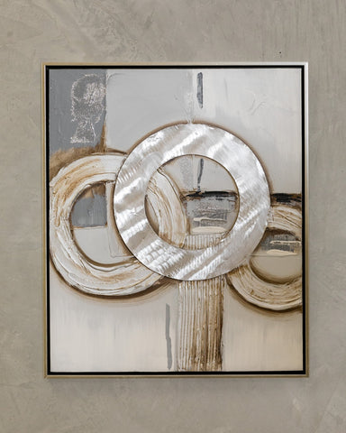 "25"" x 21"" Rings B Wall Decor"