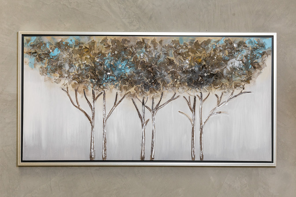 "49"" x 25"" Forest Wall Décor"