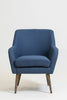 "33"" Luxembourg Armchair - Navy Blue"