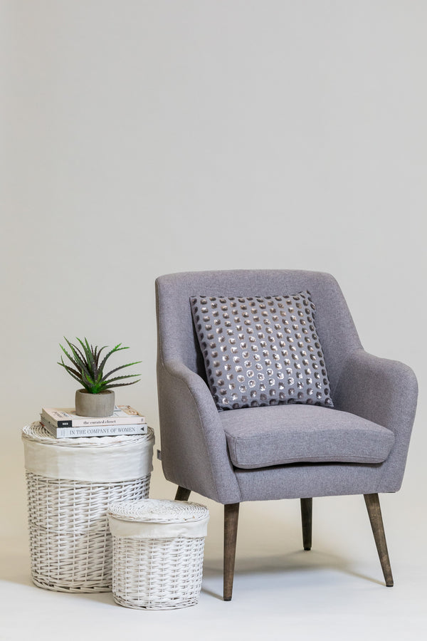 "33"" Luxembourg Armchair - Taupe"