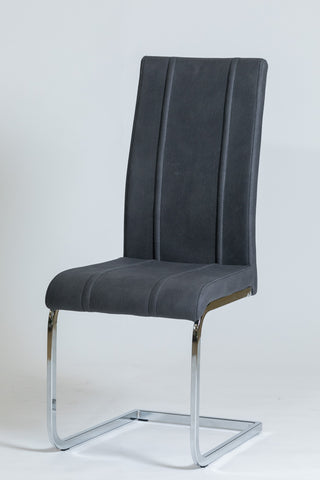 Giselle Chair -  Charcoal Gray