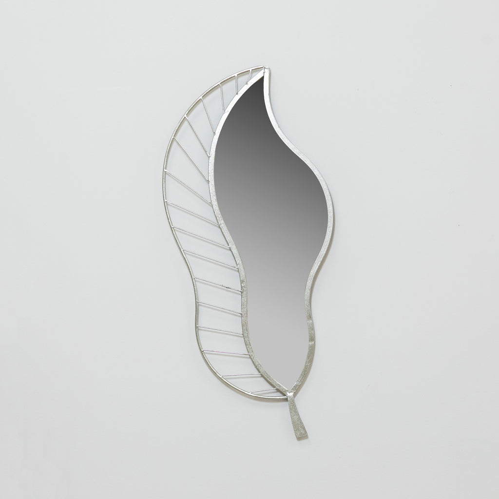 Silver Leaf Mirror - Metalle Collection