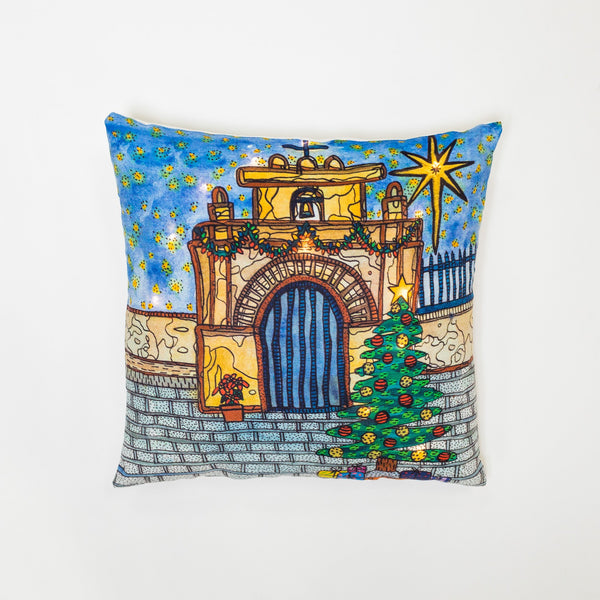 Calle del Cristo Pillow with LED by Susana Cacho
