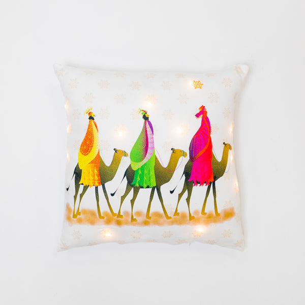 CAMINO A BELEN Pillow with LED