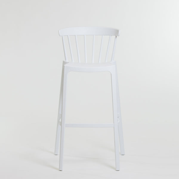 Taylor Barstool Chair - White