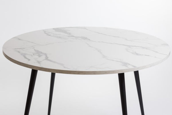 "47"" Lana Round Dining Table-Marble"