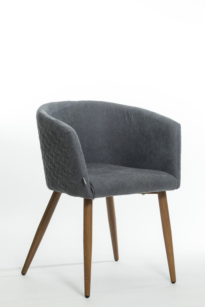 Trixie Chair- Charcoal Gray
