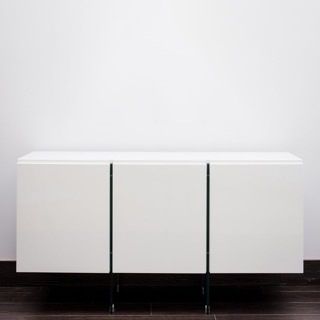 "56"" Blanche Buffet Table"