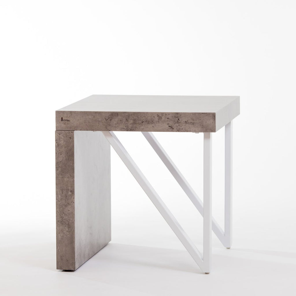"20"" Bela End Table - Cement"