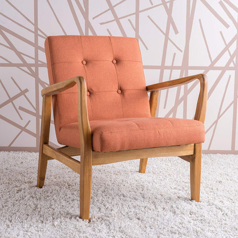 Conrad  Mid Century Modern Club Chair - Various Colors (Exclusively Online)