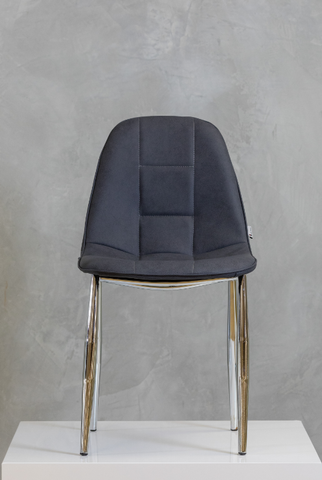 "33"" Bea Chair -  Charcoal Gray"