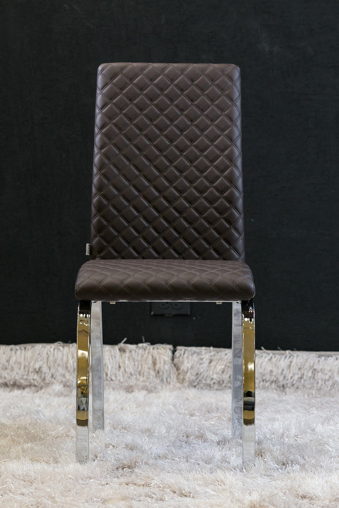 "Tess Chair - Chocolate 15"" x 18"" x 38.5"" - Casa Febus - Home • Design"