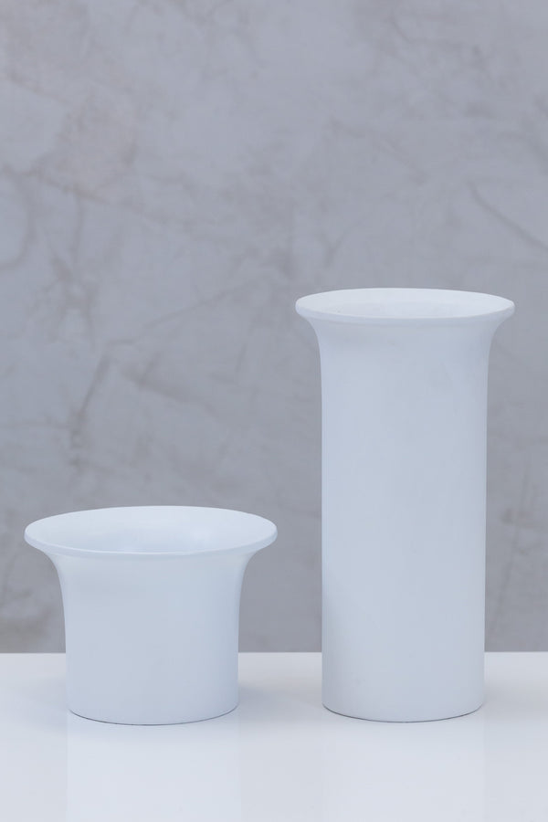 "5"" Flusso Pot - Matt White"