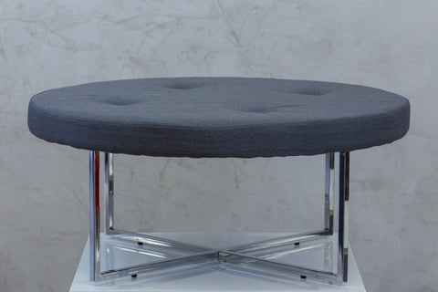 "Reflections Round Table - Dk. Gray 39""D"