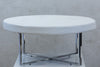 "Reflections Round Table - White 39""D"