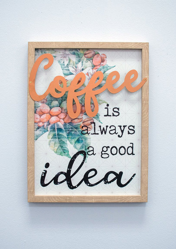 Coffee Idea Wall Décor - Café Collection