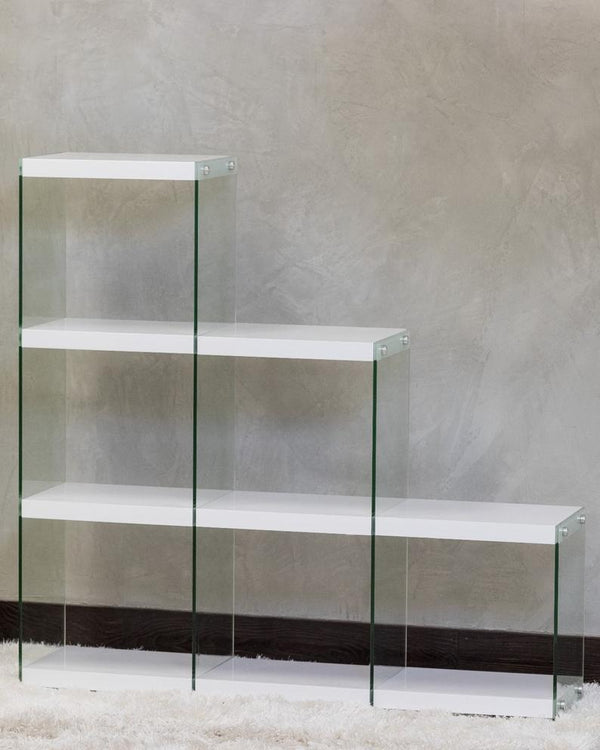 "48"" GT Wood & Glass Shelf - 6 spaces $249.98"