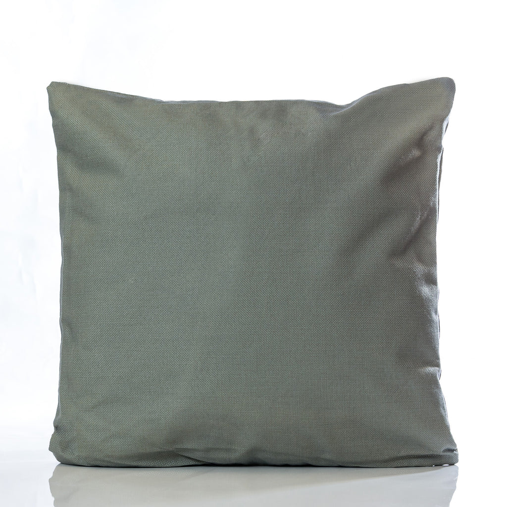 "De Rigeuer Pillow - Gray 18"" x 18"""