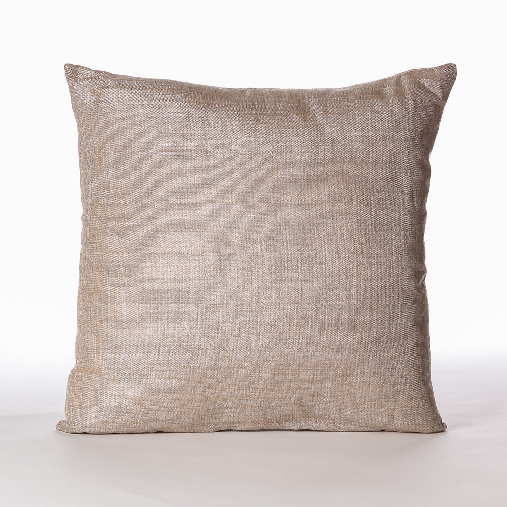 "Sofisticado Pillow Gold 18""x 18"""