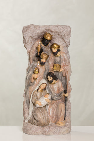 "13"" Joy Collection - Nativity C & 3 Kings"