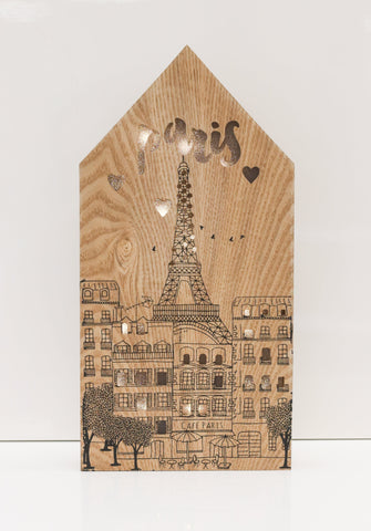 "14"" Paris Light Box - Battery Operated"