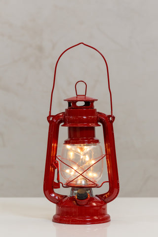 "9.4"" Led String Lantern Red - Casa Febus - Home • Design"