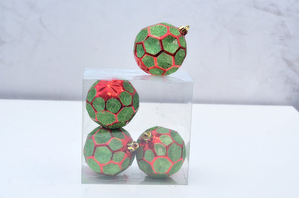Diamonds S/4 Red/Green Décor Balls - Casa Febus - Home • Design