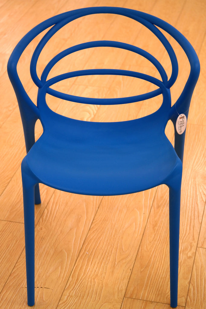 Loopy Sky Blue Chair