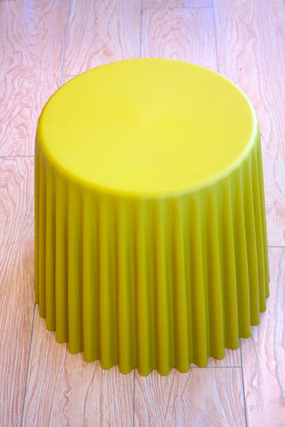 "Cup Cake Table/Base - Golden Yellow 16""H"