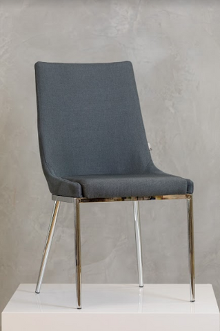 "34"" Belle Chair -  Charcoal Gray - Casa Febus - Home • Design"