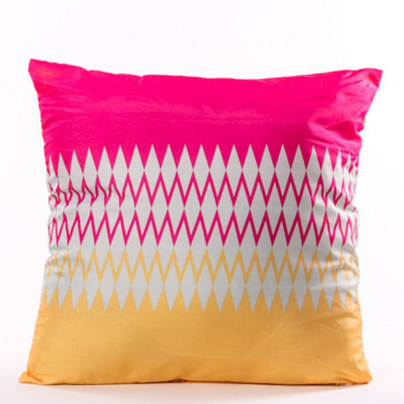 Brillant Cushion - Yellow and Pink