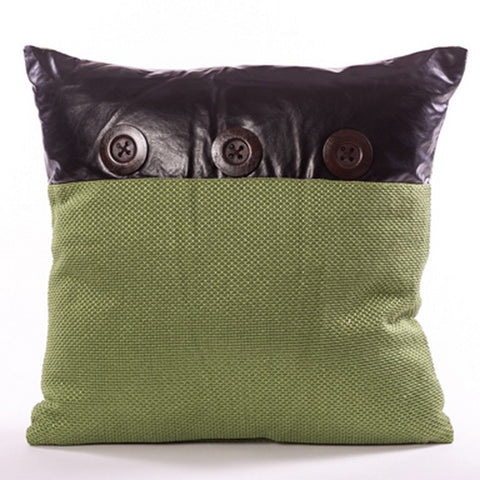 Bouton Cushion - Green