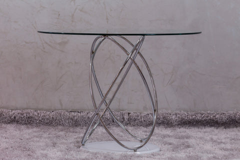 "Reflections Braided Round Dinning Table - 39""D"