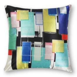 "Cristals Cushion - Lipstick Color Mix 18"" x 18"""