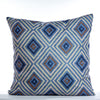 "Diamonds Cushion - Azul Mix 18"" x 18"""
