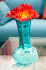 Fiesta Long Vase-Blue