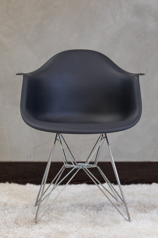 "32"" Coquette Chair - Dark Gray - Casa Febus - Home • Design"