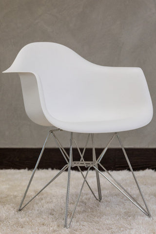 "32"" Coquette Chair - White - Casa Febus - Home • Design"