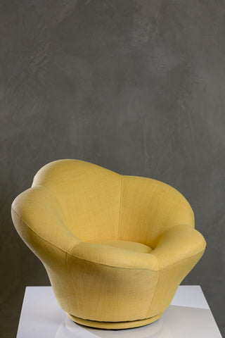 HappyKids Round Chair - Yellow
