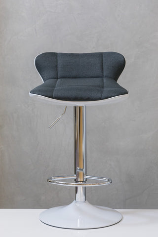 "29"" to 37"" Chic Bar Stool - Charcoal Gray"
