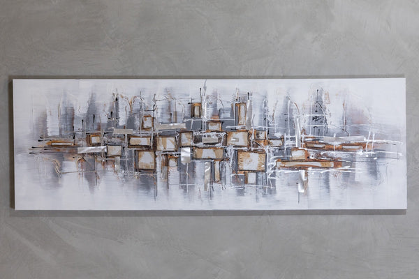 "20"" x 59""  City ReflectionWall Décor"