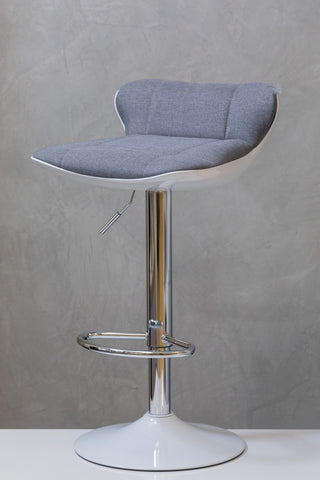 "29"" to 37"" Chic Bar Stool - Smoke"
