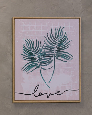 "16"" x 20"" Naturale Wall Decor - Love"