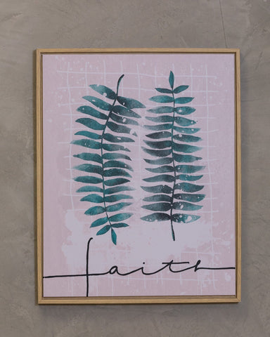 "16"" x 20"" Naturale Wall Decor - Faith"